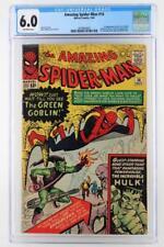 Amazing Spider-Man #14 - CGC 6.0 FN - Marvel 1964 - 1st App of the Green Goblin!