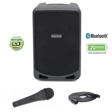 Samson Expedition Xp106 Portable 20 Hour Rechargeable Bluetooth Wired Mic Pa