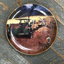 Danbury Mint Farming the Heartland Collector Plate Beating the Storm Emmett Kaye