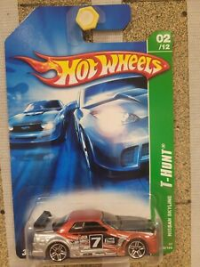 Hot Wheels 2007 - Nissan Skyline GTR R32 [GODZILLA] TREASURE HUNT CARD EXCELLENT
