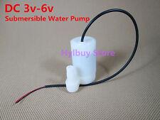 DC 3v-6v 5v mini petit submersible pompe à eau pour aquarium fish tank
