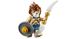 New Lego Legends of Chima Lion Warrior w/ shield and blades