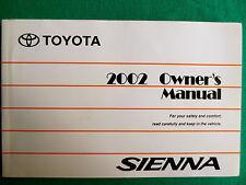 2002 02 Toyota Sienna Manual F14