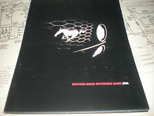 2006 FORD MUSTANG FACTORY QUICK REFERENCE OWNERS MANUAL SUPPLEMENT BOOKLET