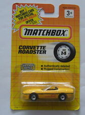 MATCHBOX-MB 14 Corvette Roadster-neuf dans sa boîte