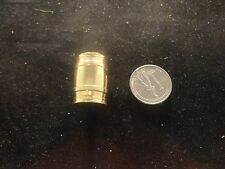BRASS BARREL/KEG SOLID BRASS - NOVELTY ITEM- (1)  2  ounce barrel