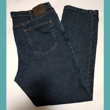 Wrangler Men's Dark Wash High Rise Relaxed Fit Jeans | 40 x 30 | G9RGAAB