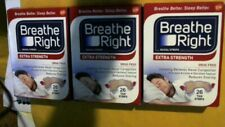 3 Boxes Breathe Right Extra Strength Nasal Strips Total 78 Tan Strips
