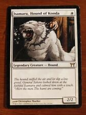 MTG- Isamaru, Hound of Konda - Rare White Legendary Creature -Champs of Kamigawa