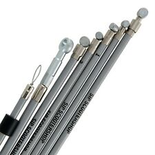 Best Quality Vespa Mk1 P200E SIP Performance Stainless Steel Cable Set - Grey