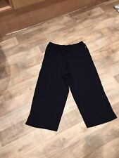 BHS Ladies 3/4 Navy Sports Trousers 12