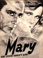 MORD – SIR JOHN GREIFT EIN (Mary) (1931)  * switchable English subtitles **SALE*
