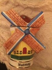 Danbury Mint - Spices of the World - Nutmeg - Dutch Windmill