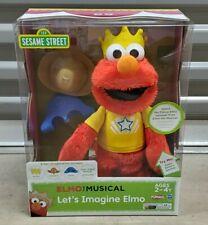 NEW Sesame Street Elmo the Musical Let's Imagine Elmo Playskool/Hasbro