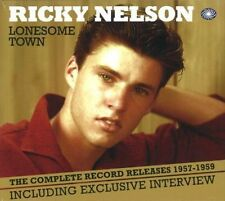 3 CD BOXSET Ricky Nelson Lonesome Town Complete Record Releases 1957-1959