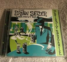 THE BRIAN SETZER ORCHESTRA - THE DIRTY BOOGIE -  CD USED IN ORIGINAL CASE