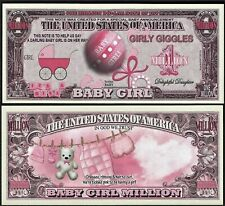It's a Girl - Baby Series Million Dollar Novelty Money