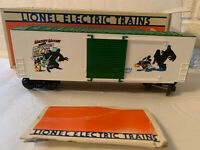 LIONEL PERILS OF MICKEY MOUSE SECOND BOX CAR OLD STOCK 19262