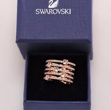 Swarovski Creativity Wide Rose Gold Color Ring size 8 /EUR 58 #5221421