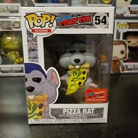 Funko Pop! Icons New York Comic Con Pizza Rat #54 Official 2020 NYCC Exclusive