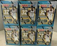 2019-20 Panini NBA Hoops Premium Stock Blaster Box Lot Of 6 NEW SEALED Cards