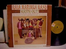 """BAJA MARIMBA BAND """"WATCH OUT"""" A&M RECORDS VINYL STEREO SP 4118 EXCELLENT"""