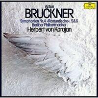 HERBERT VON KARAJAN-BRUCKNER: SYMPHONIES NO.4&5&6-JAPAN 3 SHM-SACD Ltd/Ed Japan