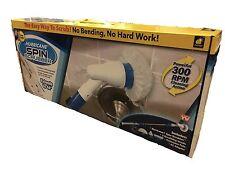 Hurricane Spin Scrubber Bathtub Tile Power Cleaning Handle Rotating Head Brush