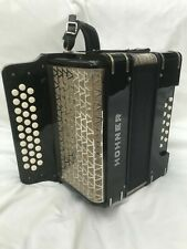 More details for hohner three row pre corona model b/c/c#  button accordion.
