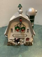 Snow Village Dairy Barn #54461 - Department 56