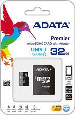 ADATA MICRO SD 32GB CLASSE 10 CLASS MICROSD SDHC SCHEDA DI MEMORIA CARD