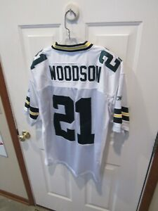 Charles Woodson Green Bay Packers NFL Football Jersey Reebok men's size 50 sewn