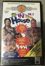 WWE WWF In Your House 2 (1995) ex-rental VHS TAPE (wrestling) rare