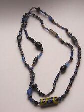 Design Glaskette Murano Italien 70 Jahre Kette Necklace Halskette Glasperlen 180