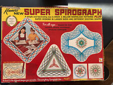 1969 Kenner's Super Spirograph No. 2400 Vintage Game Nearly Complete