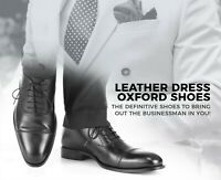 Leather Dress Oxford Shoes