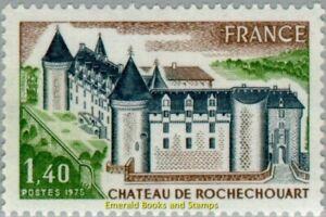 EBS France 1975 - Tourism: Rochechouart Castle (Haute-Vienne) - YT1809 MNH**