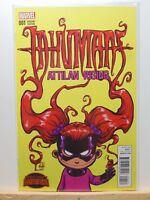 Inhumans Attilan Rising #1 Variant Skottie Young Marvel Comics 2015 vf/nm CB2408