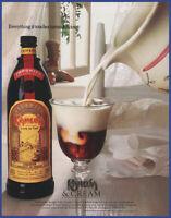 Vintage 1988 KAHLUA Coffee Liqueur Alcohol Ephemera 80's Print Ad