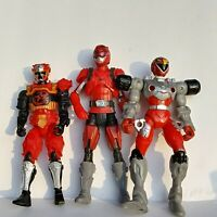 Power Rangers Red Ranger Bandai SCG Imaginext Mighty Morphins Parts Lot 3