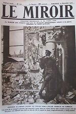 WW1 LE MIROIR 1916 ALLEMAND AU VIOLON à COMBLES ASSAUT DOUAUMONT ARMEE RUSSE