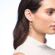 BIN Alexis Bittar Crystal Encrusted Abstract Tulip Drop Wire Earrings jewelry