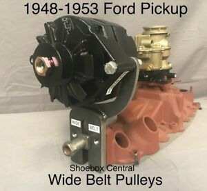 1948-1953 Ford Pickup Truck Flathead V8 Alternator Mounting Bracket