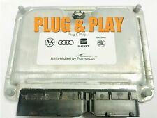 VW GOLF MK4 2.3 AGZ ECU PLUG & PLAY IMMO OFF TUNED 071906018 / 0261204753