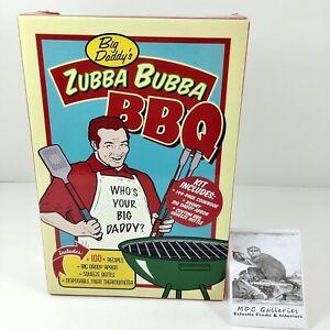 Vintage BBQ Grilling 100 Recipe Cook Book & Kit Backyard Zubba Bubba BBQ