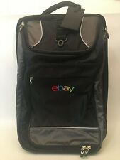eBay Lightweight Luggage Suitcase Business Overnight Wheels Black Laptop Tablet