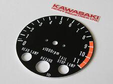 1978-80 Kawasaki Z1R gauge TACHOMETER FACE PLATE tacho tach instrument cluster