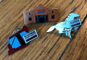 Business Professionals of America Texas Alamo Mustang Oilrig pins LOT (3)