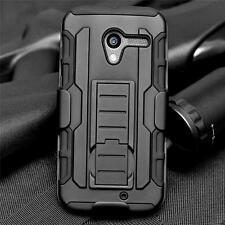Black Rubber Belt Clip Holster Box Stand Cover Case For Motorola Moto X XT1058