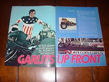 1971 DON GARLITS BIG DADDY REAR ENGINE DRAGSTER - ORIGINAL ARTICLE